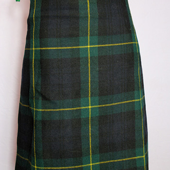 British army WWI or WWII Gordon Highlanders kilt