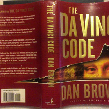 The Da Vinci Code book - Books