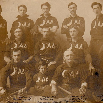 Vintage 1904 Baseball Team ( Unknown ) - Baseball