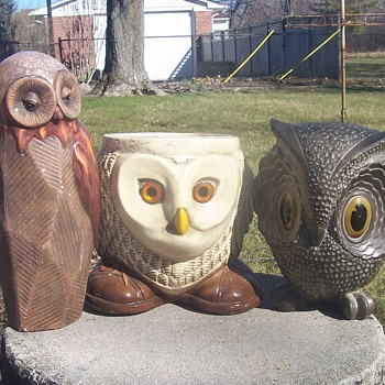 Whoooo Goes There! - Figurines