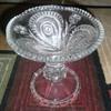 Vintage EAPG 1908 Slewed Horseshoe Punchbowl base