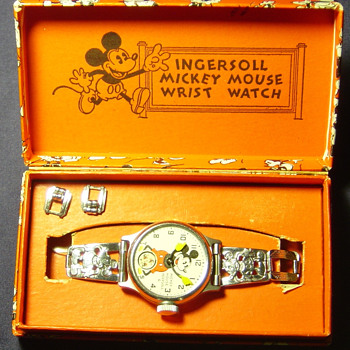 1934 Mickey Mouse Watch -Need info - Wristwatches