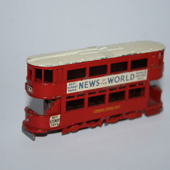 Lesney N°03 trolley toy