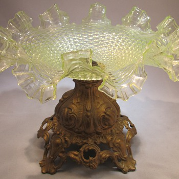 Art nouveau glass bohemian ?