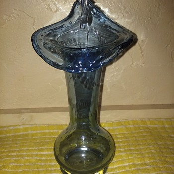 pulpit glass vase