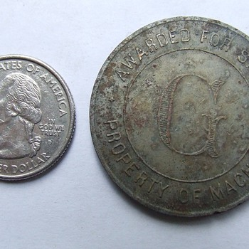 More Metal Detecting Finds, Arcade Game Tokens? - US Coins