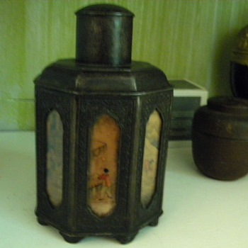 2 Asian Tea caddy(s) one which may be a real nice find.