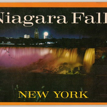 Niagara Falls Picture Tourist Booklet