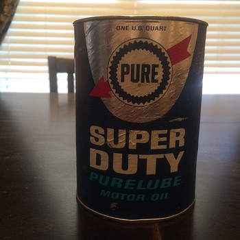 Pure oil cardboard oil can