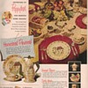1950 Metlox Dinnerware Advertisement