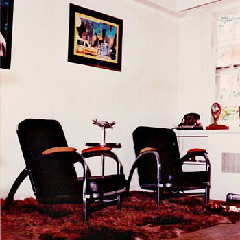 Art Deco Chairs by Norman Bel Geddes