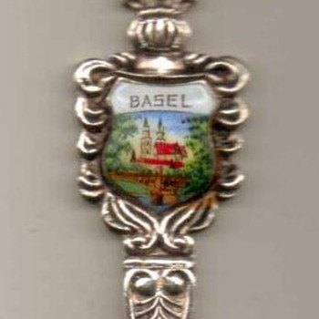 "Souvenir Spoon - ""Basel"" (Switzerland)"