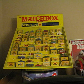 Some of my Matchbox collection - Model Cars