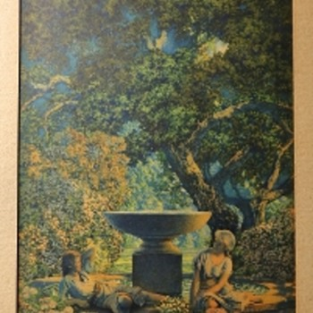 Maxfield Parrish - another print i found - Visual Art
