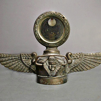 Egyptian Winged Cap with Motometer circa 1925 - Art Deco