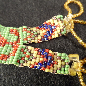 Woven Beaded Native American Strap - Native American