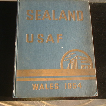 Sealand USAF 1954 - Military and Wartime