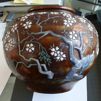 Japanese Vase Collected In 1952