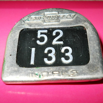 Chevrolet ID. badge