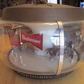 1960's Budweiser Original Clydesdales Carousel Light