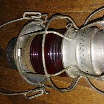 Railroad lamp, Chicago & Northwestern - Railroadiana
