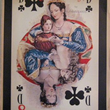  &quot;Old Florentine designs&quot; playing cards posters - Cards