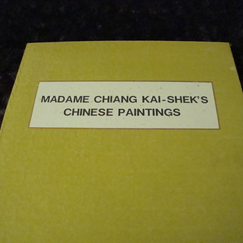 Madame Chiang Kai-Shek's painting book (1 of 2) - Books