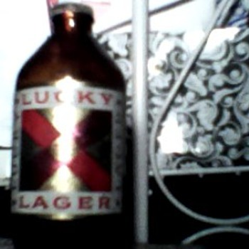 My Lucky Lager Bottle 1959