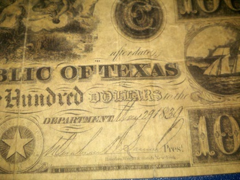 Texas Money 1839 Collectors Weekly