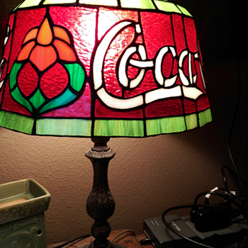 One of a Kind Coca Cola lamp - Coca-Cola