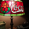 One of a Kind Coca Cola lamp