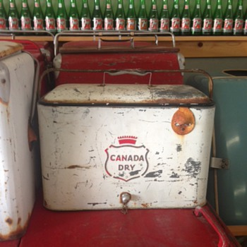 Canada Dry Progress A4 Picnic Cooler - Advertising