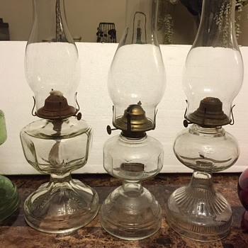 My vintage oil lamps