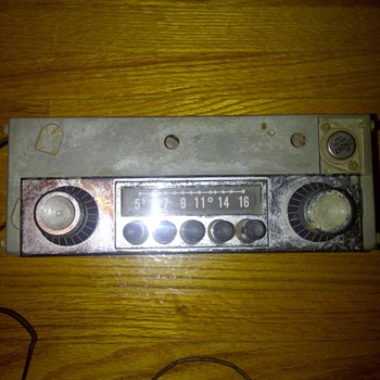Vintage Stromberg Carlson Car Radio from?