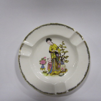 China Ashtray - Asian