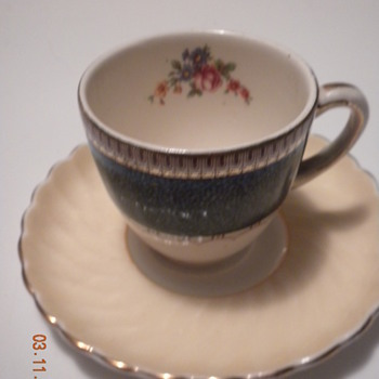 Teacup, saucer - China and Dinnerware