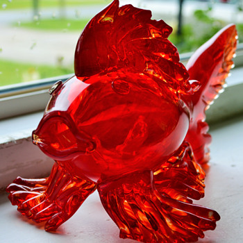 Art Glass Betta Fish