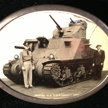 WW II Tank Pin