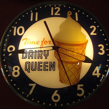 Time for ice cream - Clocks