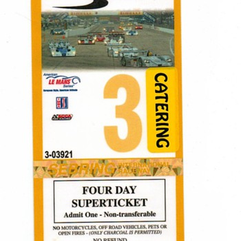 Sebring pass