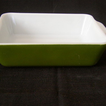 Pyrex Avocado Green 1 1/2 Quart Ovenware 0503   - Kitchen