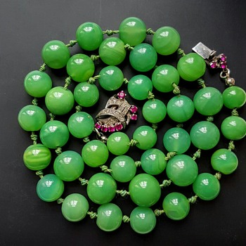 Green stones are not always jade!