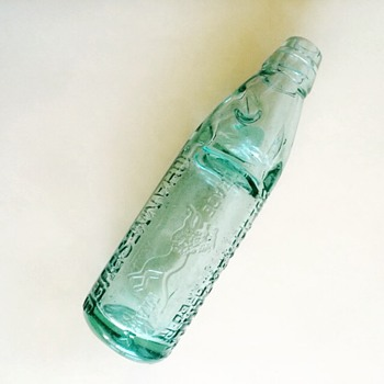 Old cold drink bottle