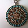 A Lonely Zuni Pettipoint Earring Is Now A Pendant - Thrift Shop Find 50 Cents