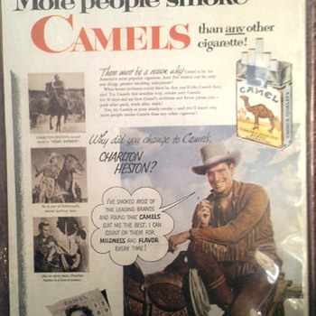 Camel magazine add - Advertising