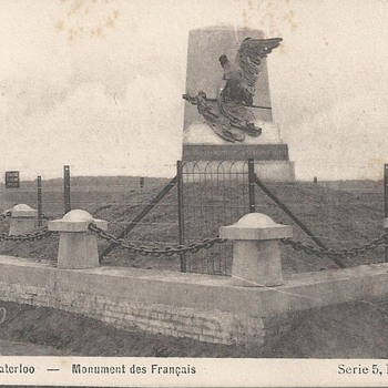 WATERLOO - MONUMENT DES FRANÇAIS - Postcards