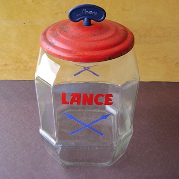 Lance Two Gallon General Store Counter  Jar