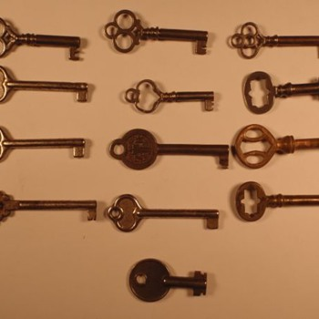 Skeleton Keys 1 of 2 - Anything significant about them?  - Tools and Hardware