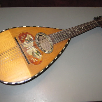Mandolin old - Musical Instruments
