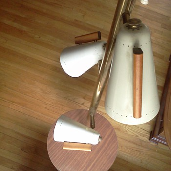 Stiffel tension lamp with table - Lamps